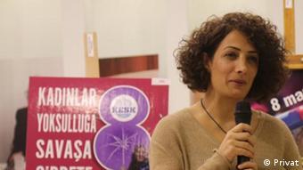 Türkei | Frauentag, Gülistan Atasoy von der Gewerkschaft KESK