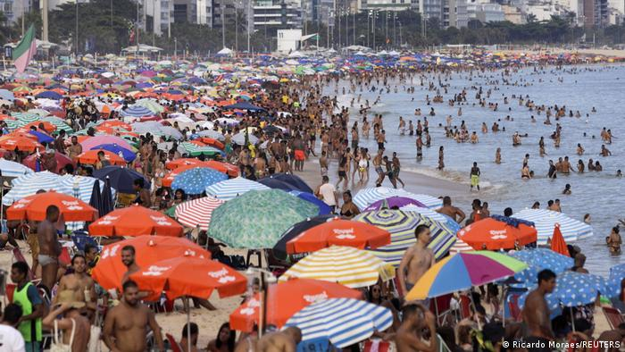 Bildergalerie Brasilien & Coronavirus | Rio de Janeiro Strand