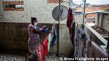 Bildergalerie Brasilien & Coronavirus | Rio de Janeiro Slum Complexo da Mare