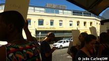 Portugal, Lissabon   Protest Angolischer Patienten