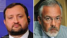 Bildkombo Sergii Arbuzov und Dmytro Tabachnyk
