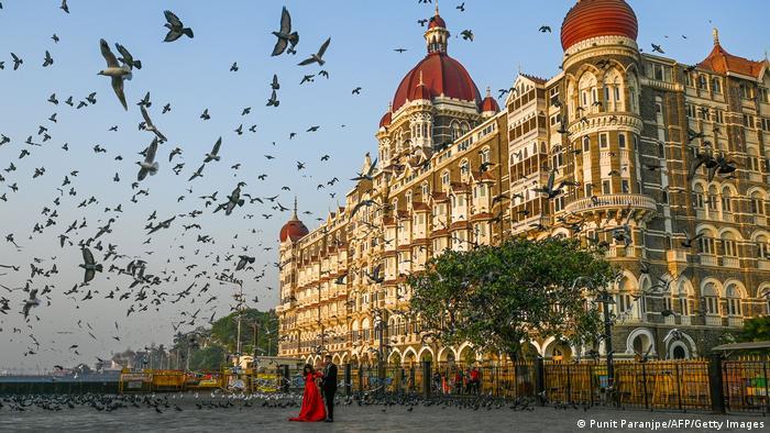 The Taj Mahal hotel in Mumbai