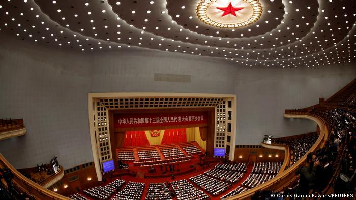 آغاز نشست سالانه کنگره ملی خلق چین، پنجم مارس ۲۰۲۱