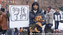 USA New York | Protest gegen Gewalt gegen Asiaten