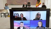 Gespräch Bundespräsident Frank-Walter Steinmeier mit Hinterbliebenen