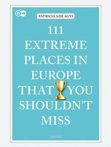 Book cover| Extreme Places in Europe | Englisch