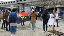 Portugal, Lissabon | Proteste von Patienten aus Angola