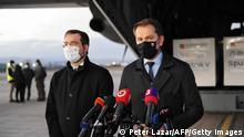 Ігор Матович (праворуч) підкилимно домовився про купівлю російської вакцини