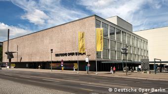 Gebäude Deutsche Oper Berlin von außen