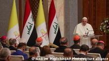 Irak Besuch des Papst Franziskus