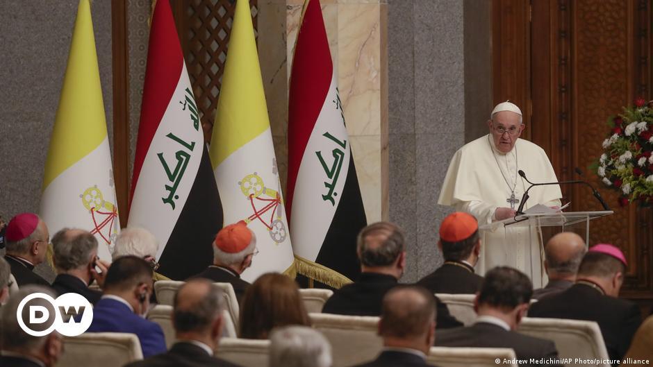 Papa'dan tarihi Irak ziyaretinde çağrı