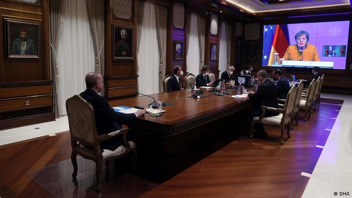 تصريحات ميركل جاءت ضمن مؤتمر عبر الفيديو مع الرئيس التركي أردوغان