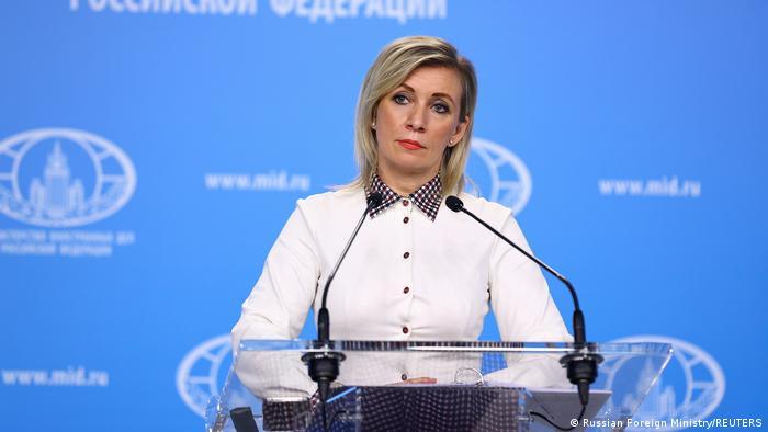 Russland Maria Sacharowa, Sprecherin des Außenministeriums