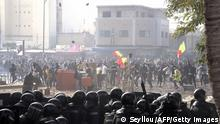 Senegal I Proteste gegen die Festnahme von Oppositionsführer Ousmane Sonko