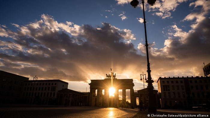 BdTD Sonnenuntergang Berlin