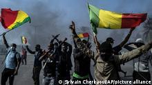 Senegal Proteste der Opposition