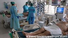 Tschechien | COVID-19 Patienten im Thomayer University Hospital