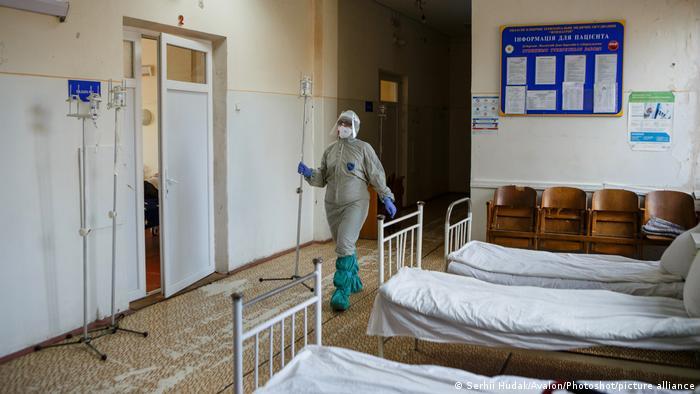 Відділення для пацієнтів з COVID-19 у лікарні в Ужгороді