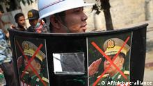 Myanmar   Proteste gegen Militärputsch