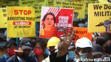 Myanmar | Proteste gegen Militärputsch
