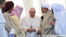 Irak Besuch des Papst Franziskus in Ur