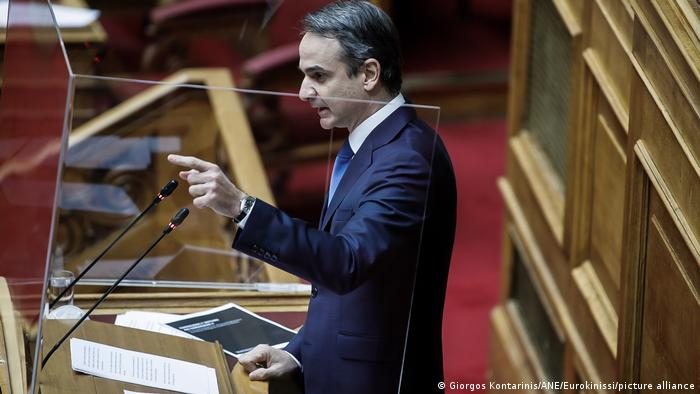 Premierul elen Kyriakos Mitsotakis