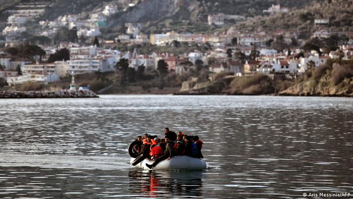 Greek migrant boat
