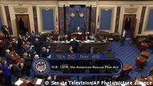 الكونغرس الأمريكي السبت 6 مارس2021