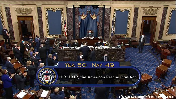 USA | Washington | Abstimmung im Senat