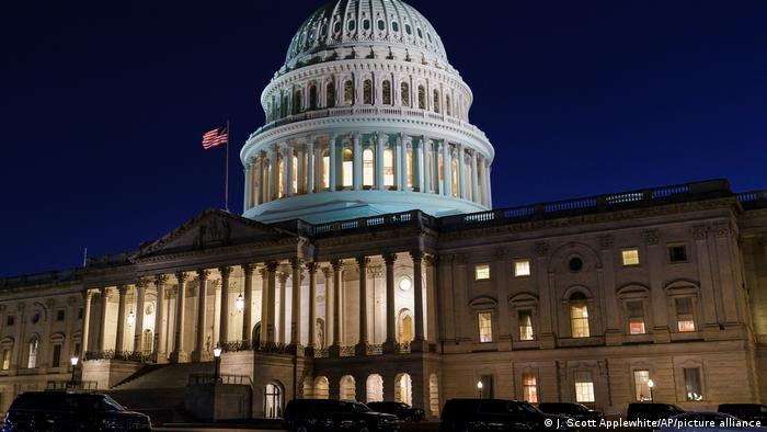 کاپیتول، مقر قانونگزاری ایالات متحده آمریکا