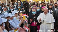 Irak Bagdad Besuch Papst Franziskus