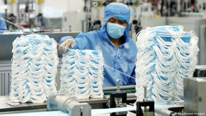Tvornica maski u Kini