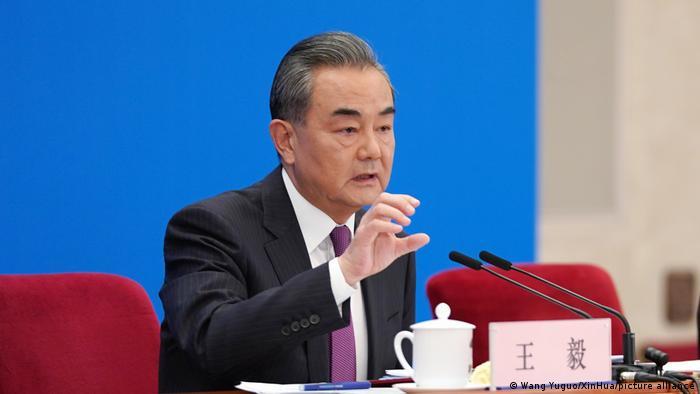 China Peking Außenminister Wang Yi