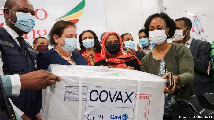 Äthiopien | AstraZeneca | COVAX-Impfstoff