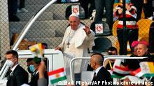 Irak Erbil | Besuch Papst Franziskus