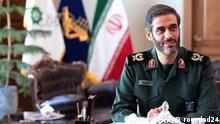 Saeed Mohammad Schlagwörter: Iranischer Millitärführung kandidiert für Präsidentenwahl in Iran, Khatam al-nabia, Führung bei Revollutions Garde Lizenz: frei Qulle: rouydad24