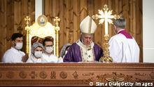 Irak Erbil | Besuch Papst Franziskus | Messe