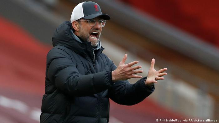 England Liverpool Trainer Jurgen Klopp