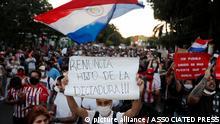 Paraguay Proteste gegen die Regierung