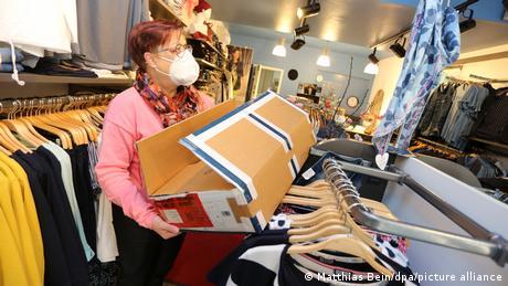 Comercio de vestimenta en Alemania.