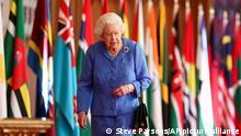 Großbritannien Königin Elizabeth II
