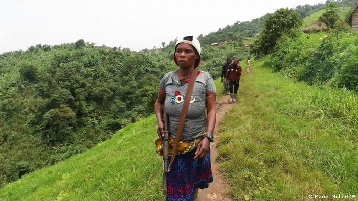 Demokratische Republik Kongo   Miliz in der Masisi Provinz