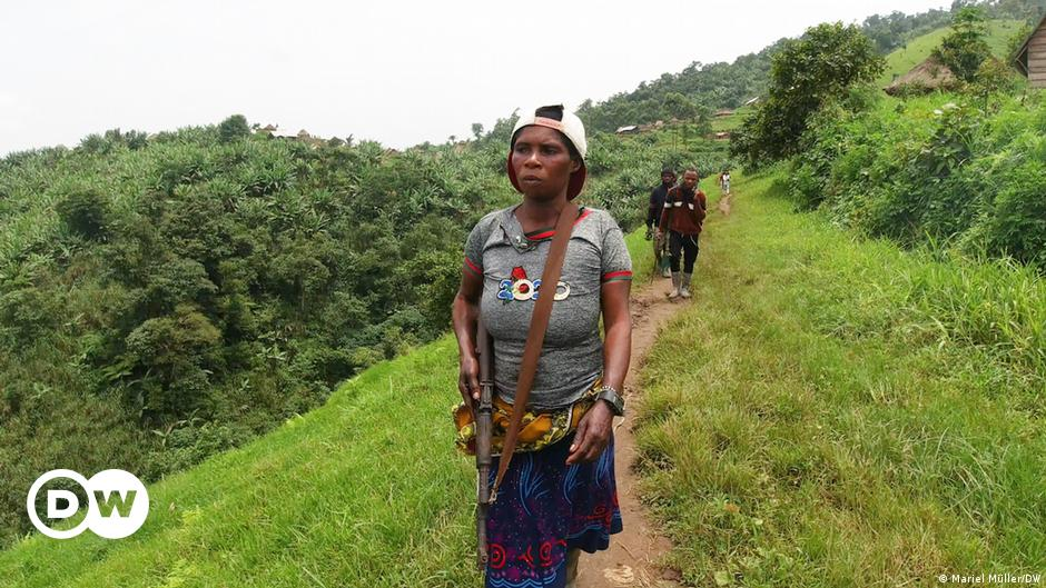 A woman guerrilla fighter in DR Congo relates her ordeal