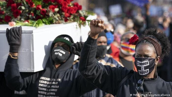 Weltspiegel 08.03.2021 | USA | Black Lives Matter Protest in Minneapolis
