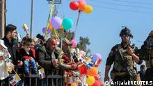 Weltspiegel 08.03.2021   Irak   Papst Franziskus in Qaraqosh