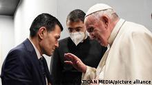 Irak Papst Franziskus trifft Abdullah Kurdi