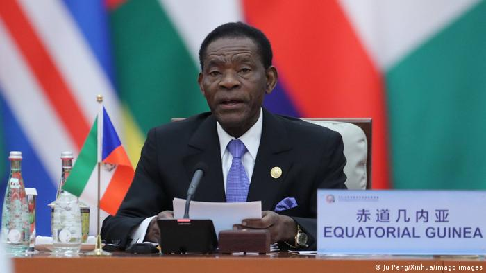 Äquatorialguinea Präsident Teodoro Obiang Nguema Mbasogo