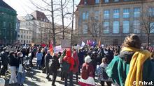 تظاهرات زنان آلمانی در برلین، هشت مارس ۲۰۲۱