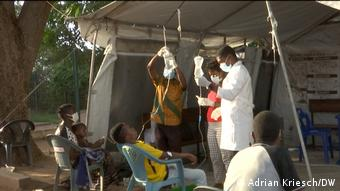 Mosambik Klinik in Metuge