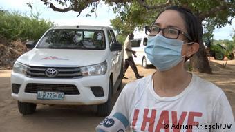 Mosambik Ärztin Maria Chavez von Ärzte ohne Grenzen
